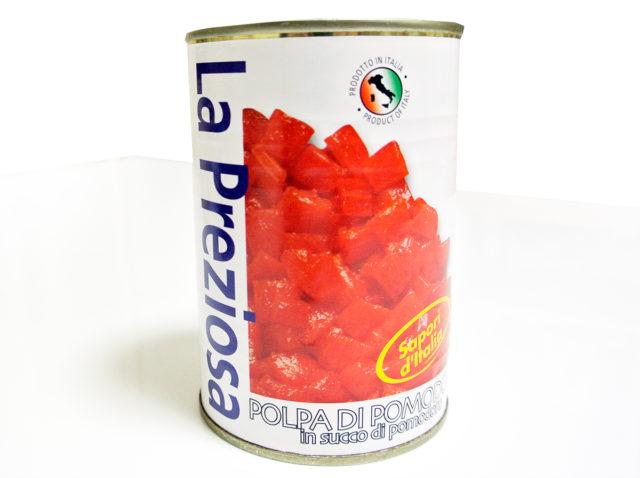 濃縮されたトマト